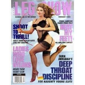 LEG SHOW MAGAZINE FEBRUARY 2000 JENNA JAMESON: LEG SHOW