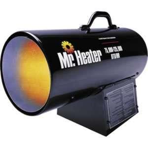 Enerco Brands 75,000 125,000 BTU Portable Propane Forced Air Heater