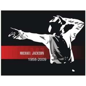 Magnet (Large) MICHAEL JACKSON (1958 2009)