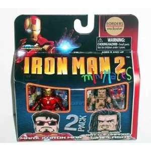 Ironman 2 Minimates   Mark IV Iron Man & Battle Damage