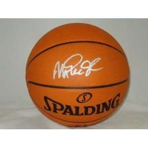Magic Johnson Autographed Basketball Lakers Jsa Sports