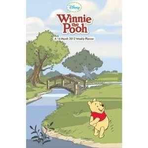 Winnie the Pooh 16 Month 2012 Weekly Planner Calendar