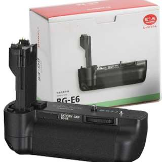 BG E6 Multi Power Battery Pack Grip For Canon EOS 5D Mark II LP E6