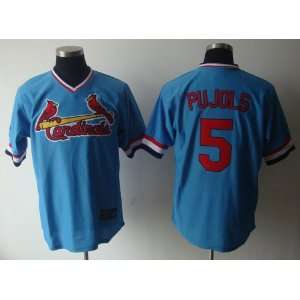 Albert Pujols Blue #5 Throwback St. Louis Cardinals