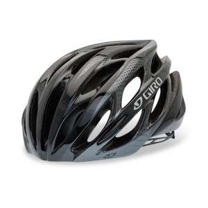 NEW 2012 GIRO SAROS BLACK/CHARCOAL BICYCLE HELMET NIB