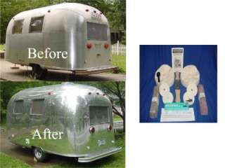 New AIRSTREAM Bambi Caravel safari Globetrotter Aluminum POLISH