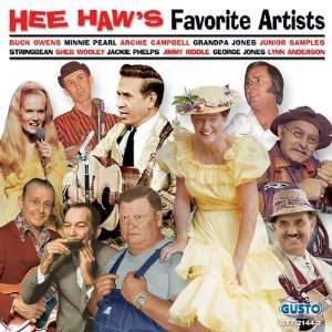 HEE HAWS FAVORITE ARTISTS Grandpa Jones/ARCHIE CAMPBELL/Minnie Pearl