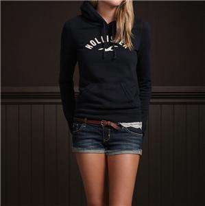 NWT Abercrombie Fitch Womens Top Hoodie Jacket Sweatshirt Sweater