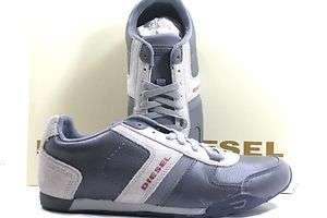 New Mens Diesel Loop sneaker Steel Grey Light Grey