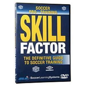 Soccer Pro Training Skill Factor (DVD) Videos DVD 74