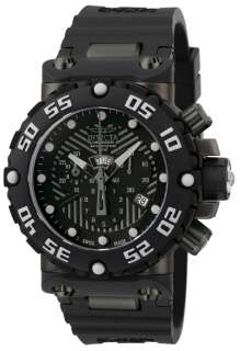 NEW INVICTA 0656 MEN WATCH BLACK BAND STAINLESS STEEL CASE