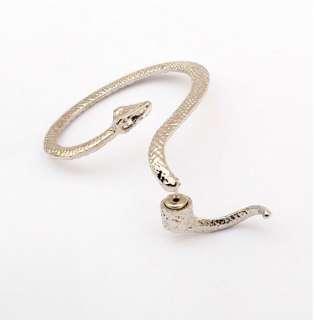 Fashion 4 Styles Snake Serpent Bite Ear Cuff Wrap Earring Punk Rock