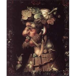 Giuseppe Arcimboldo   24 x 30 inches   Autumn