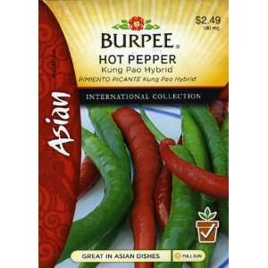 Burpee 69643 Asian   Pepper, Hot Kung Pao Hybrid Seed