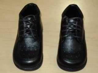 Baby Boy Black Patent Leather shoes/Wedding/z/ Size 4