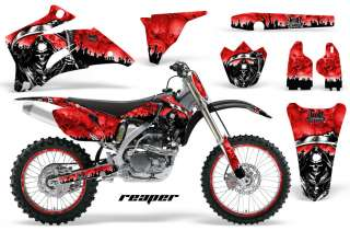 DIRTBIKE STICKER GRAPHIC DECAL YAMAHA YZ450F YZ YZ250F 06 09 Reaper R