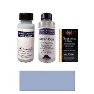 2 Oz. Light Harbor Blue Metallic Paint Bottle Kit for 1983