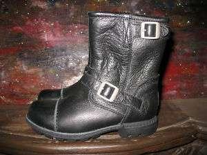 UGG Rockville kids size 13 Black motorcycle boots