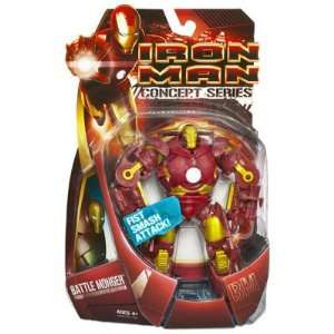 Iron Man Movie Action Figure Battle Monger (Red and Gold