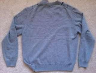PAOLO MONDO V Neck 100% Cashmere 2 ply Sweater (Sizes L, XL, XXL