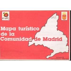 com Map Mapa Turistico de la Comunidad de Madrid Espana none Books