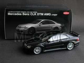 18 Kyosho Mercedes Benz CLK DTM AMG Coupe Black