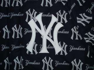 MLB NEW YORK YANKEES Wool LEATHER REVERSIBLE JACKET 3XL