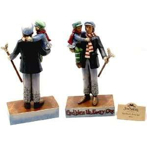 Jim Shore Christmas Carol Cratchit & Tiny Tim Figurine 4010353: