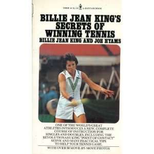 Billie Jean Kings Secrets of Winning Tennis Books