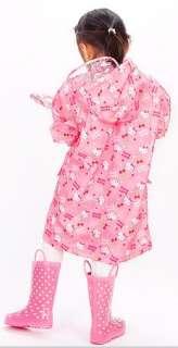 Hello Kitty Rain Coat age 5~6 years old with bag