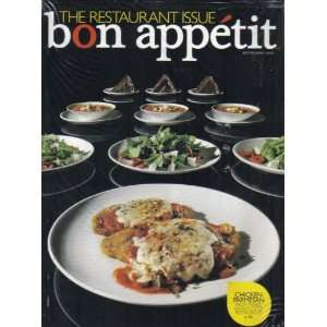 BON APPÉTIT MAGAZINE (September 2008) Featuring: THE