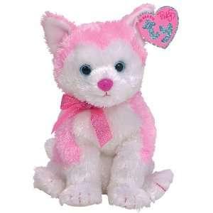 Ty Beanie Baby Pinkys Bonita husky: Toys & Games