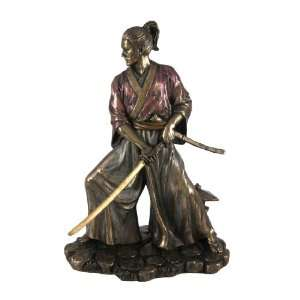 Bushido Samurai Warrior Statue Figurine Martial Arts Home