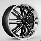 22inch RIMS and TIRES WHEELS +30 PACKAGE BLACK STARR 112