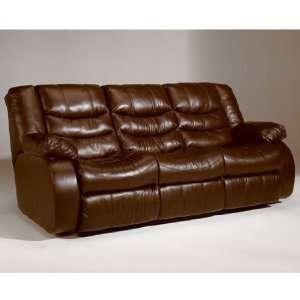 Saddle Contemporary Double Reclining Sofa
