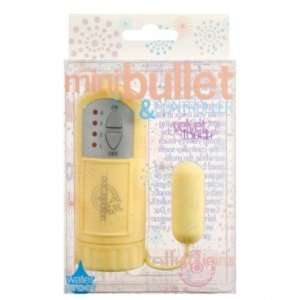 Mini bullet, yellow velvet touch: Health & Personal Care