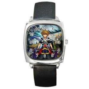 Kingdom hearts sora leather wrist watch HOT wrist watch