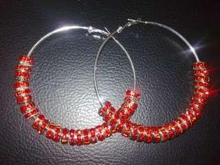 fashion Jewelry earrings Basketball wives Inspired Hoop Earrings 65mm