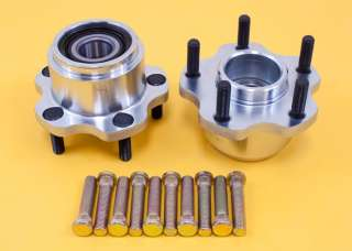 240SX S13 89 94 5 LUG CONVERSION KIT FRONT HUB + EXTENDED 60MM WHEEL