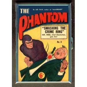 THE PHANTOM LEE FALK 3 COMIC BOOK CIGARETTE CASE WALLET