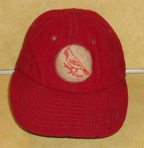 ST LOUIS CARDINAL BASEBALL HAT CAP VINTAGE WORLD SERIES CHAMPION OLD