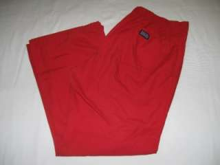 CHEROKEE WORKWEAR Nurse Uniform Scrub Pants MEDIUM PETITE Red STYLE