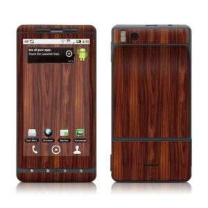 Motorola Droid X Skin Cover Case Decal Rose wood Grain
