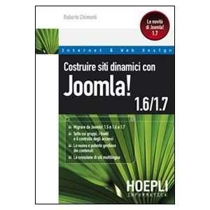 Costruire siti dinamici con Joomla! 1.6 1.7 (9788820348861