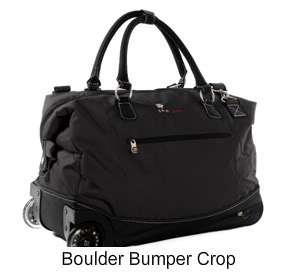 SHERPANI* Black TRIP Rolling Duffle Bag NWT $160 Carry on size