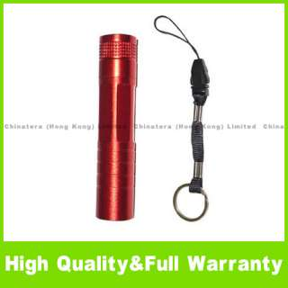 Portable 3W 1 LED Bright Flashlight Torch Mini light R