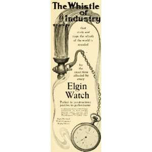 1902 Ad Antique Elgin National Pocket Watch Time Piece IL