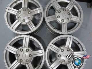 Four 04 07 Chevy GMC Colorado Canyon Factory 17 Wheels OEM Rims 5184
