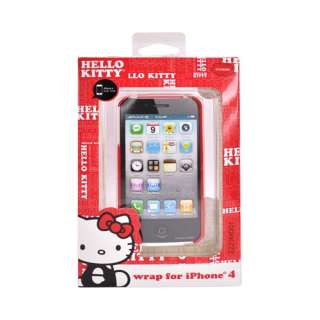 HELLO KITTY RED Hard Back Cover Case For AT&T iPhone 4