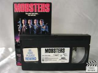 Mobsters VHS Christian Slater, Patrick Dempsey 096898112932